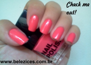 Esmalte H&M Check me out