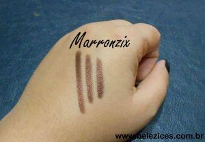 Lápis quem disse berenice marronzix textura