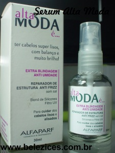 Serum anti frizz Alta Moda e