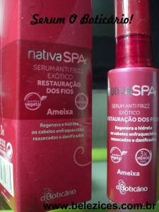 Serum anti frizz O Boticário