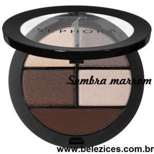 sombra marrom sephora