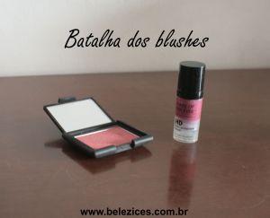 Batalha dos blushes - Belezices