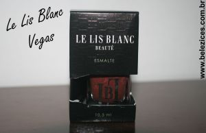 Esmalte Le Lis Blanc Vegas 5