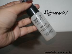 Fixador Make up For ever refrescante