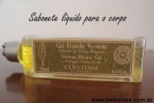 Loccitane sabone líquido verbena Belezices