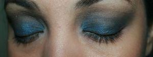 Tutorial Belezices lápis preto + sombra azul - Parte X