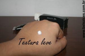 Make B. primer para olhos textura leve Belezices
